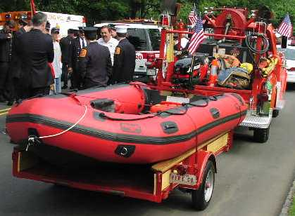 Millington Rescue Boat