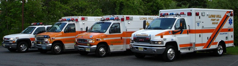 photo of First Aid Squad vehicles