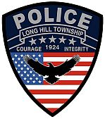 Long Hill Uniform Police Patch